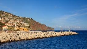 Lungomare di Funchal Fotografia Stock