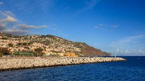 Lungomare di Funchal Immagini Stock Libere da Diritti
