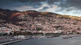 Lungomare di Funchal video d archivio