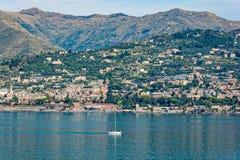Lungomare di Genova, Italia fotografie stock libere da diritti