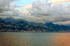 Lungomare di Genova, Italia fotografia stock libera da diritti
