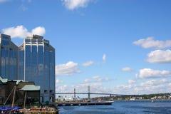 Lungomare di Halifax fotografia stock