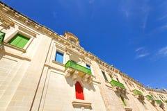 Lungomare di La Valletta, Malta Fotografie Stock