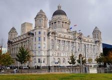 Lungomare di Liverpool Fotografia Stock Libera da Diritti