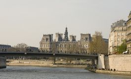 Lungomare di Parigi fotografie stock libere da diritti