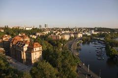 Lungomare di Praga Immagine Stock Libera da Diritti