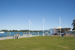 Lungomare di Tauranga Nuova Zelanda fotografia stock libera da diritti
