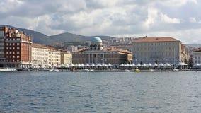 Lungomare di Trieste Immagine Stock Libera da Diritti