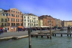 Lungomare di Venezia Immagini Stock