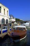 Lungomare di Venezia Immagine Stock