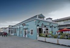 Lungomare di Wellington, isola del nord della Nuova Zelanda Immagine Stock