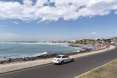 Lungomare di Yzerfonteign sull'Oceano Atlantico La Sudafrica Fotografia Stock Libera da Diritti
