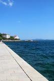 Lungomare 1 di Zadar Immagine Stock Libera da Diritti