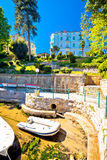 Lungomare famous waterfront walkway in Opatija Royalty Free Stock Photo