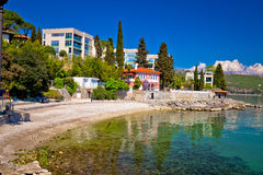 Lungomare famous waterfront walkway in Opatija view Stock Photography