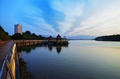 Lungomare, Kuantan, Malesia fotografie stock