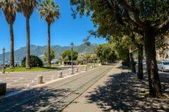 Lungomare Trieste, Salerno Images libres de droits