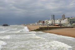 Lungonmare a Brighton sussex l'inghilterra Immagini Stock Libere da Diritti