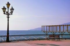 Lungonmare di Jalta Fotografia Stock