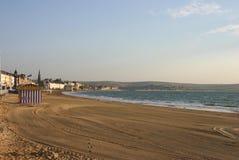 Lungonmare di Weymouth fotografia stock libera da diritti