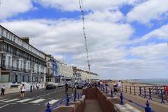 Lungonmare Regno Unito di Eastbourne fotografie stock
