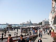 Lungonmare a Venezia fotografie stock libere da diritti