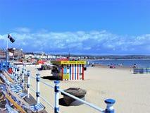 Lungonmare a Weymouth, Dorset, Regno Unito immagine stock