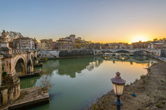 Lungotevere Fotografia de Stock Royalty Free