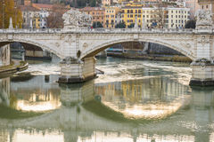 Lungotevere Fotografia Stock