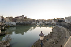 Lungotevere Royalty Free Stock Photos