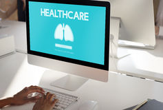 Lungs Medicine Pneumonia Asthma Bronchitis Concept Royalty Free Stock Photos