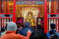 Lungshan Temple of Manka in Taiwan Stock Photo