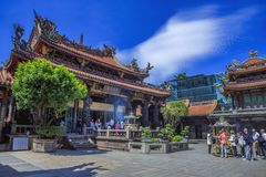 Lungshan Temple of Manka Stock Photography