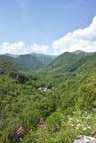 Lunigiana谷 库存图片