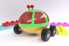 Lunohod- dzieci ` s zabawka Obrazy Stock