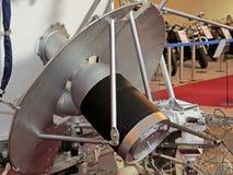 Lunokhod-1 СССР Первый вездеход в мире, успешно работающ на поверхности луны от 17 11 1970 до 14 09 1971 стоковая фотография rf