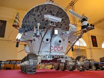 Lunokhod-1 USSR. The first rover in the world, successfully working on the surface of the Moon from 17.11.1970 to  14.09.1971. April 12 - Cosmonautics Day
