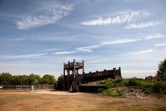 Lunt Roman Fort Stock Photos