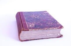 Lunta för gammal bok Arkivfoto
