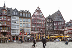 Luo Ma square in frankfurt, germany Stock Image