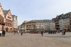 Luo Ma square in frankfurt, germany Royalty Free Stock Photography