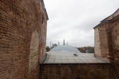 Luoghi pubblici una moschea blu del patrimonio mondiale nella città storica della Turchia immagini stock libere da diritti