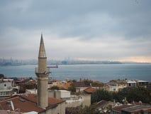 Luoghi pubblici una moschea blu del patrimonio mondiale nella città storica della Turchia fotografia stock