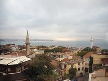 Luoghi pubblici una moschea blu del patrimonio mondiale nella città storica della Turchia immagine stock