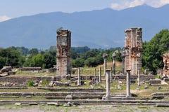Luogo archaeological di Philippi, Grecia Europa Fotografie Stock