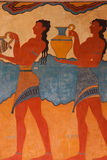 Luogo Archeological di Knossos immagini stock libere da diritti