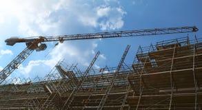 Luogo in costruzione Immagini Stock