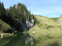 Luogo del lago ed il collare di arvouin, Francia Fotografia Stock