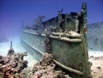 Luogo del naufragio immagine stock