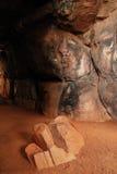 Luogo del patrimonio mondiale di Bhimbetka- Immagini Stock Libere da Diritti